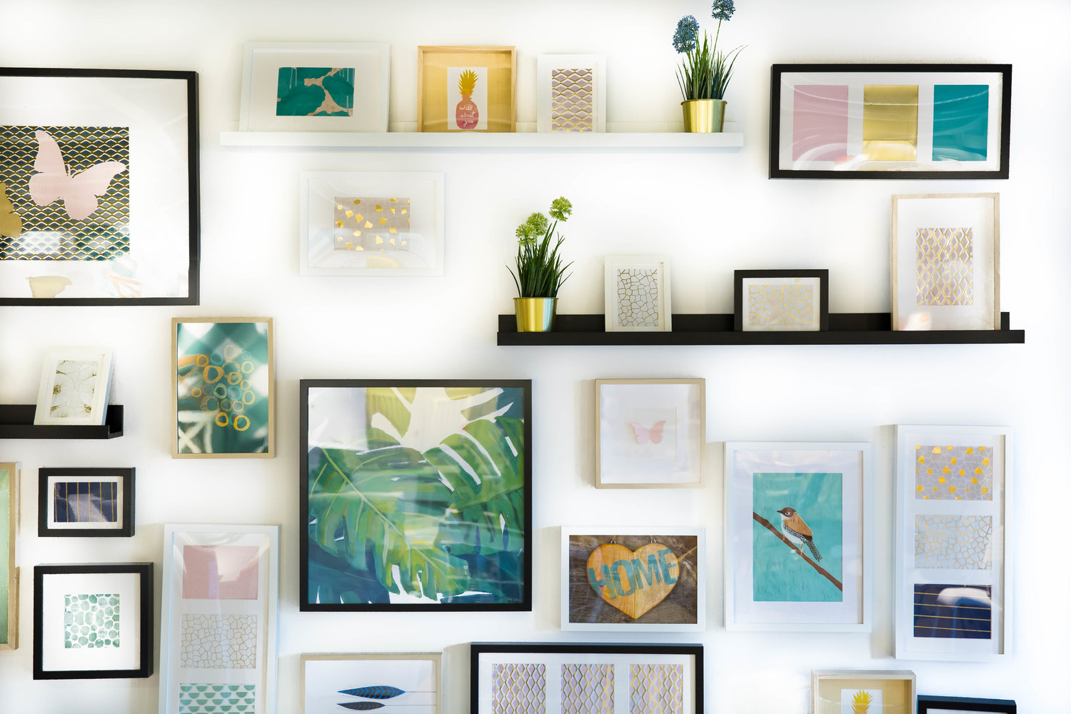 32 Creative Ideas For Every Blank Wall In Your Home Fixed Rate Real Estate