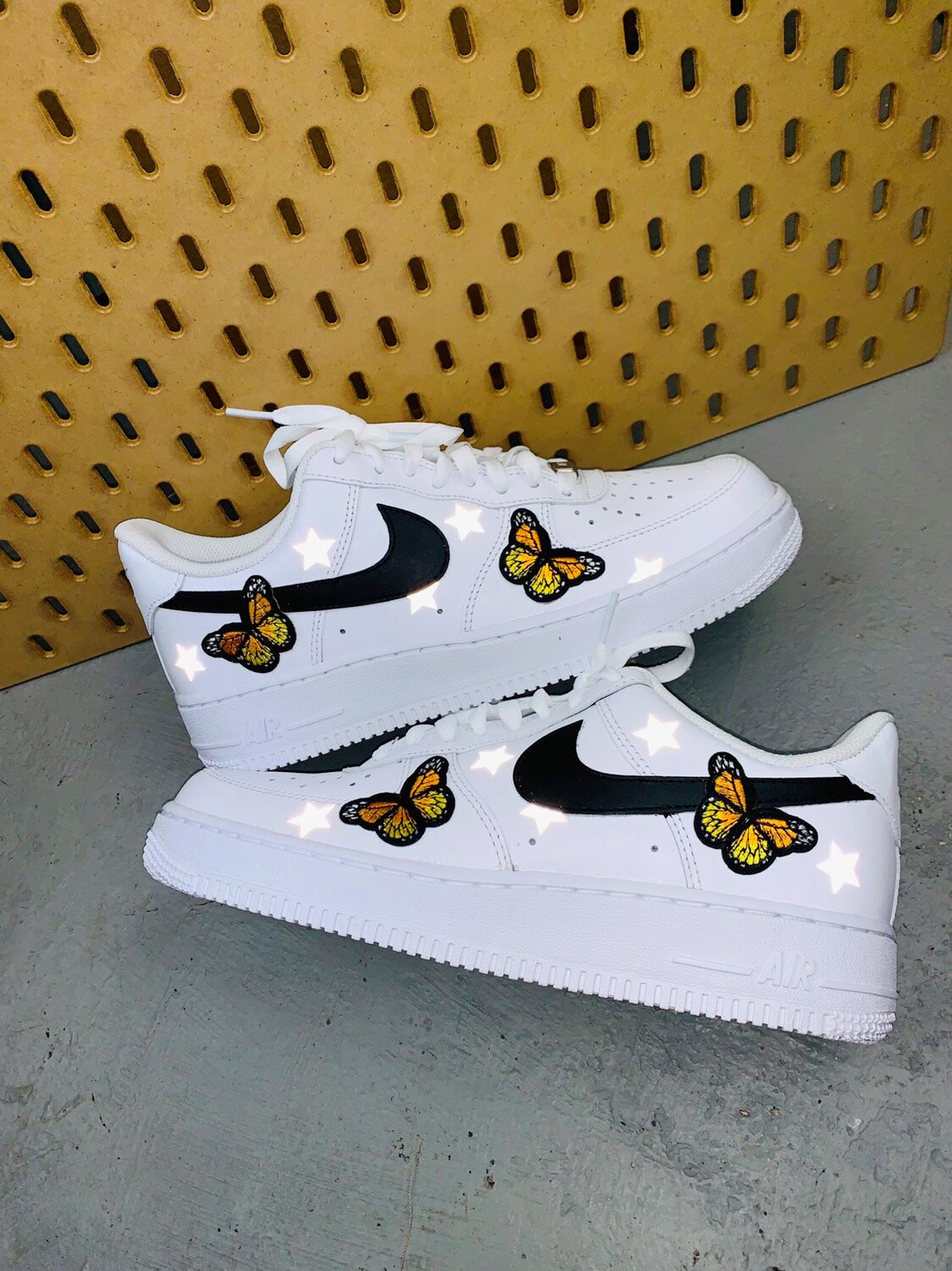 air force 1 butterfly