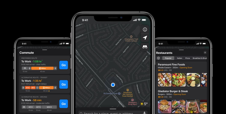 Apple Maps Redesign — Ayman Jaddaa