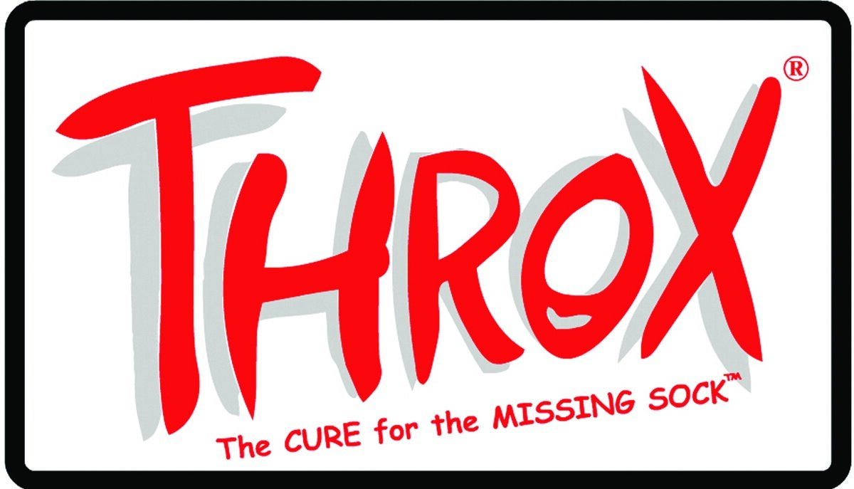 THROX. THE CURE FOR THE MISSING SOCK! AS SEEN ON SHARK TANK.