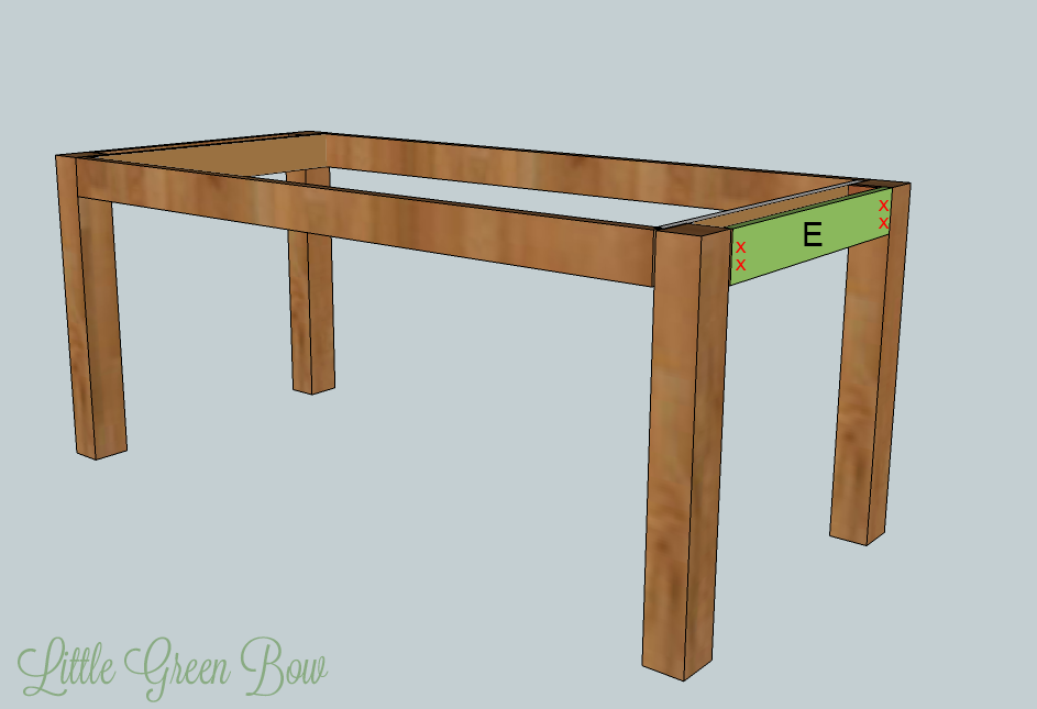 Detailed DIY Pottery Barn Dining Table Plans — Minimalist ...