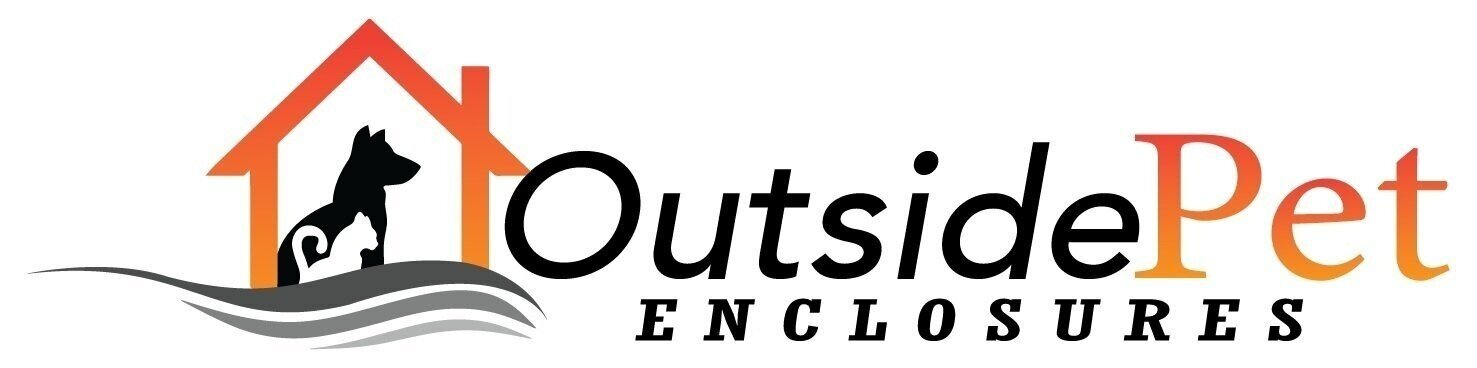 Outside pet enclosures