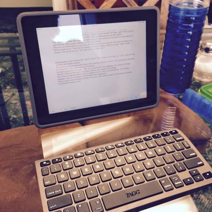 IPad and Keyboard 032015 Blog Post - Trust Still Learning...