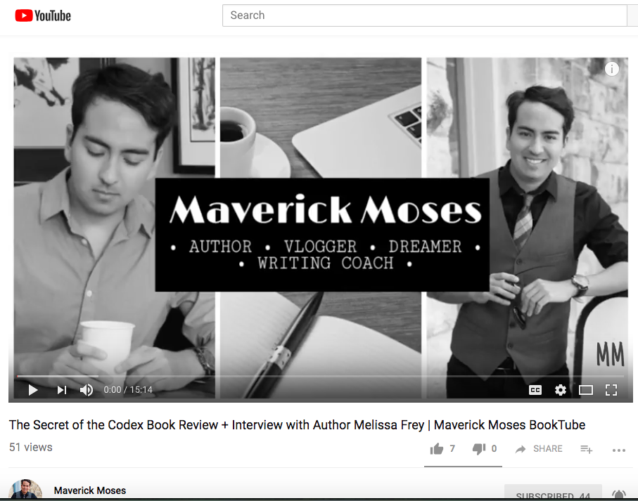 Author Interview and Book Review by Maverick Moses