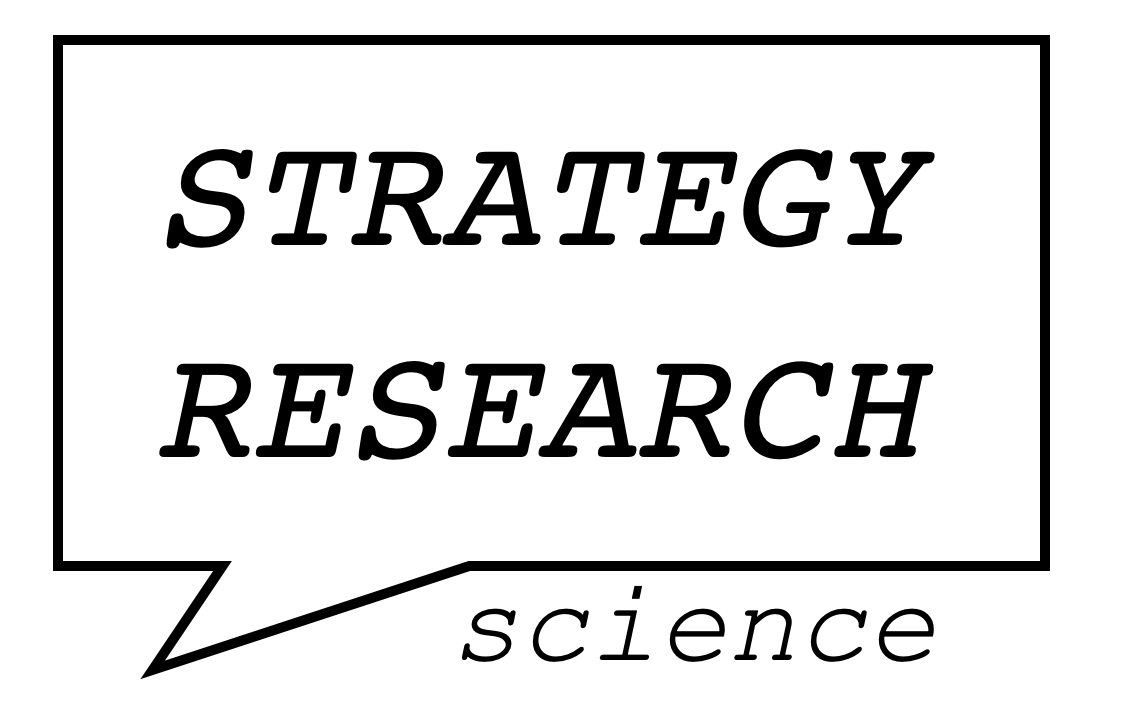 Strategy Research Science