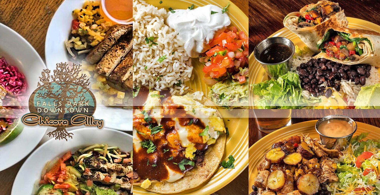 Menu At Falls Park Chicora Alley Restaurant Bar