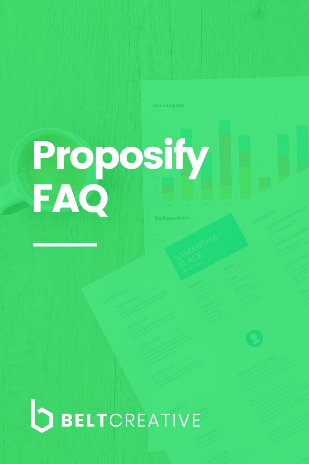 Can I Do That With Proposify Frequently Asked Proposify