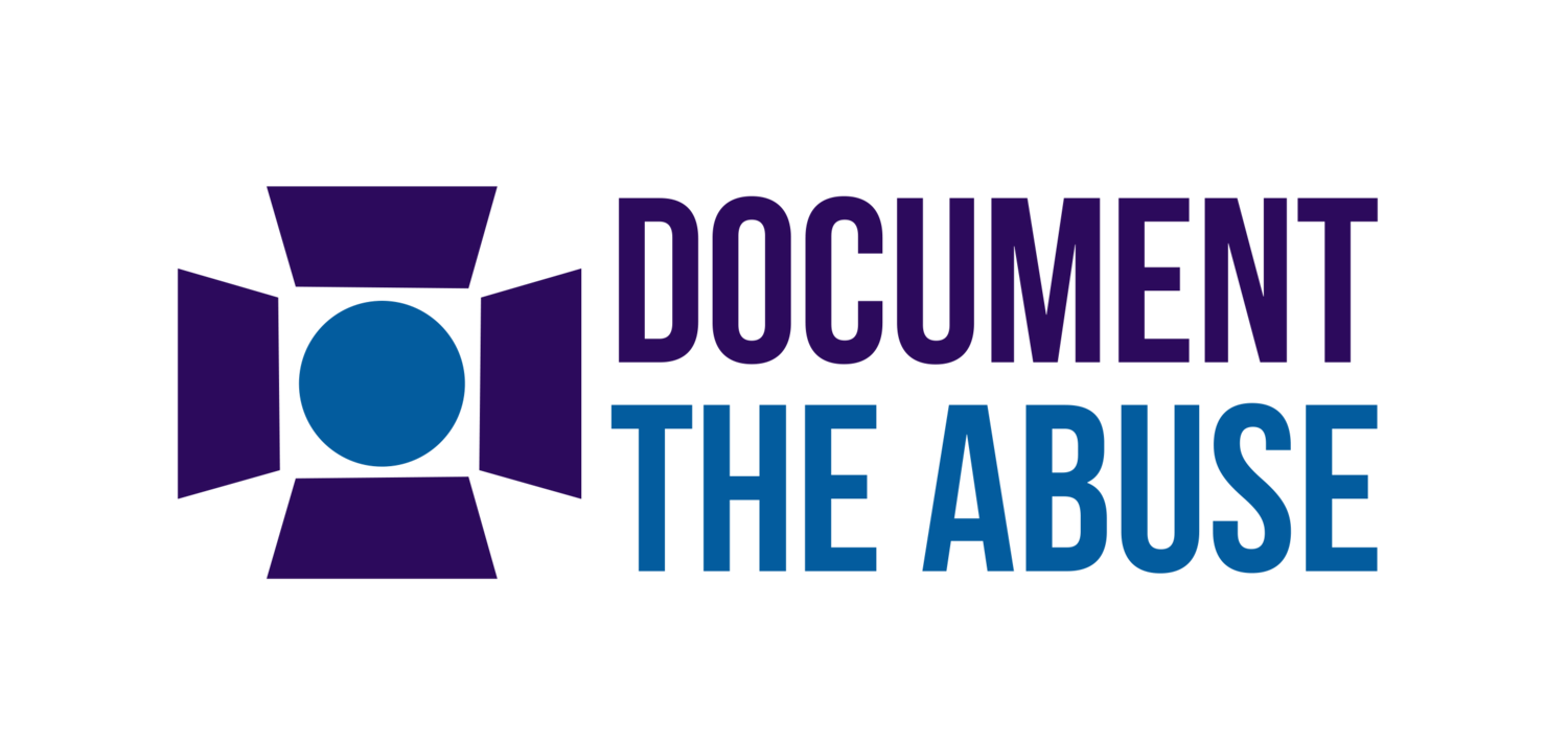 Document The Abuse