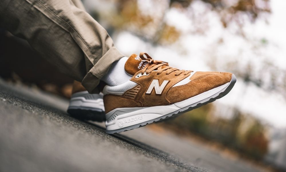 The made in USA New Balance 998 \