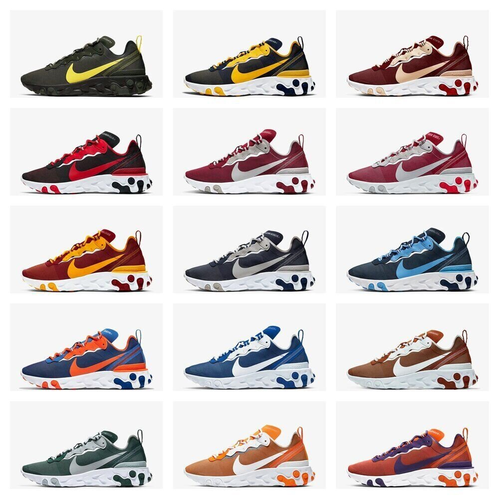 The NCAA x Nike React Element 55 Are On Sale For Over 40