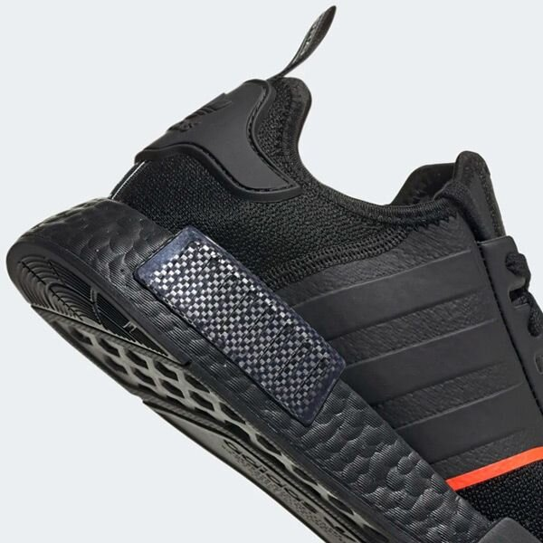 The Black/Solar Red adidas NMD Is On