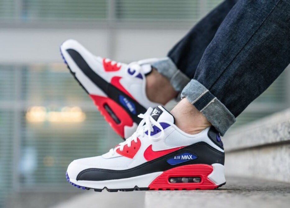 The White Red Orbit Nike Air Max 90 Essential Is On Sale For