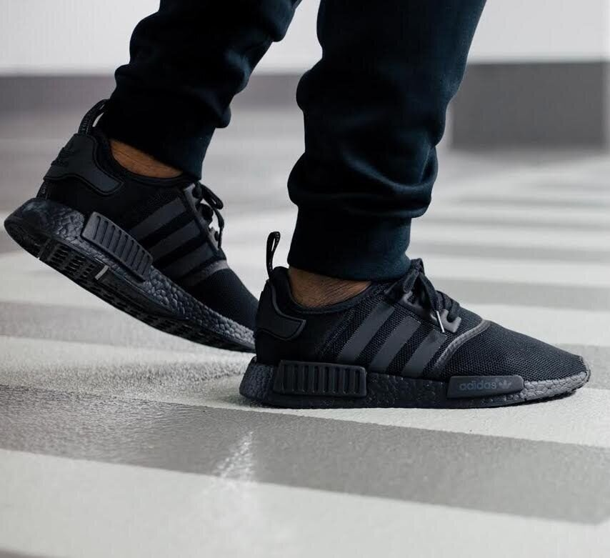 The Adidas Nmd R1 Triple Black Is On Sale For 67 49 Kicks