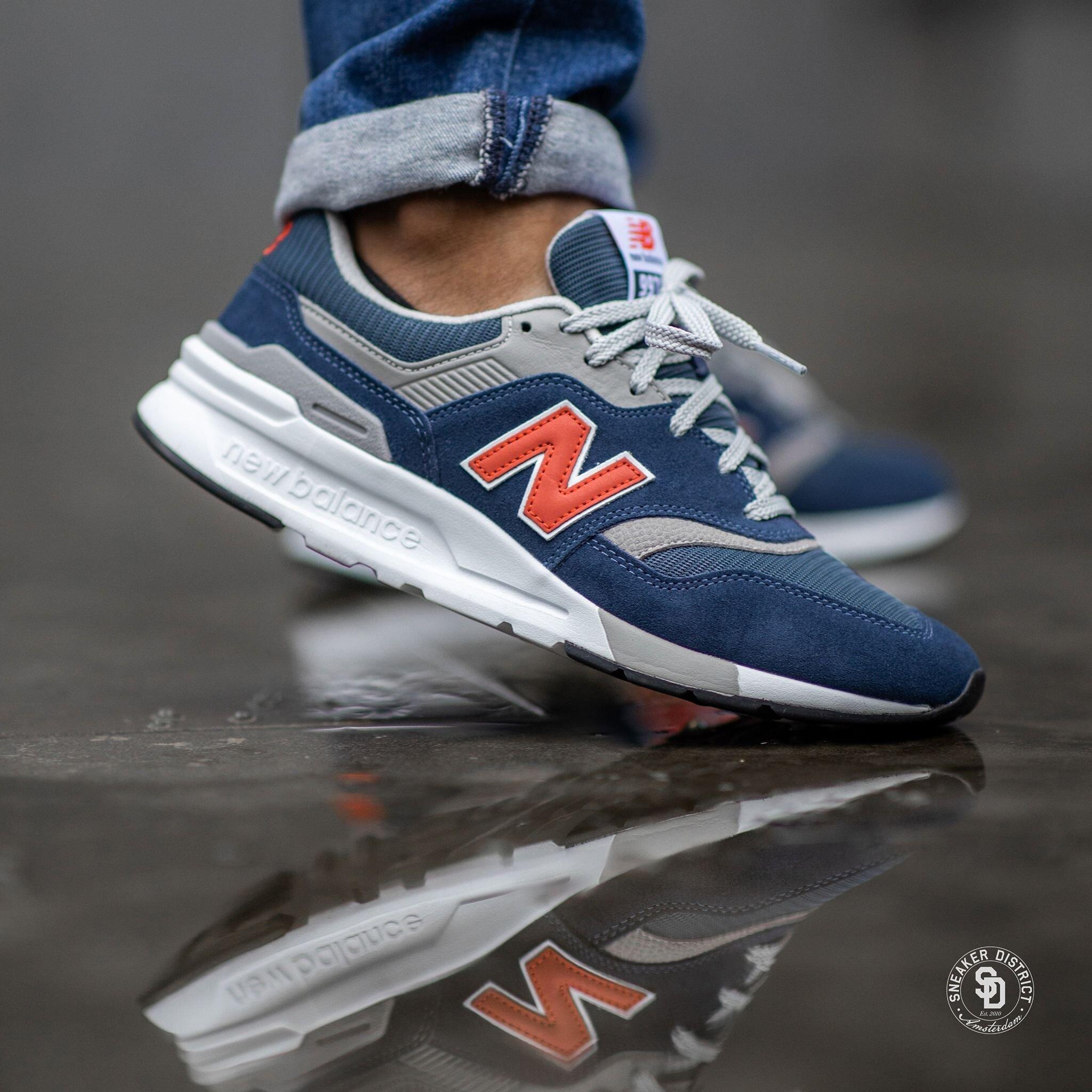 new balance 997h blue orange