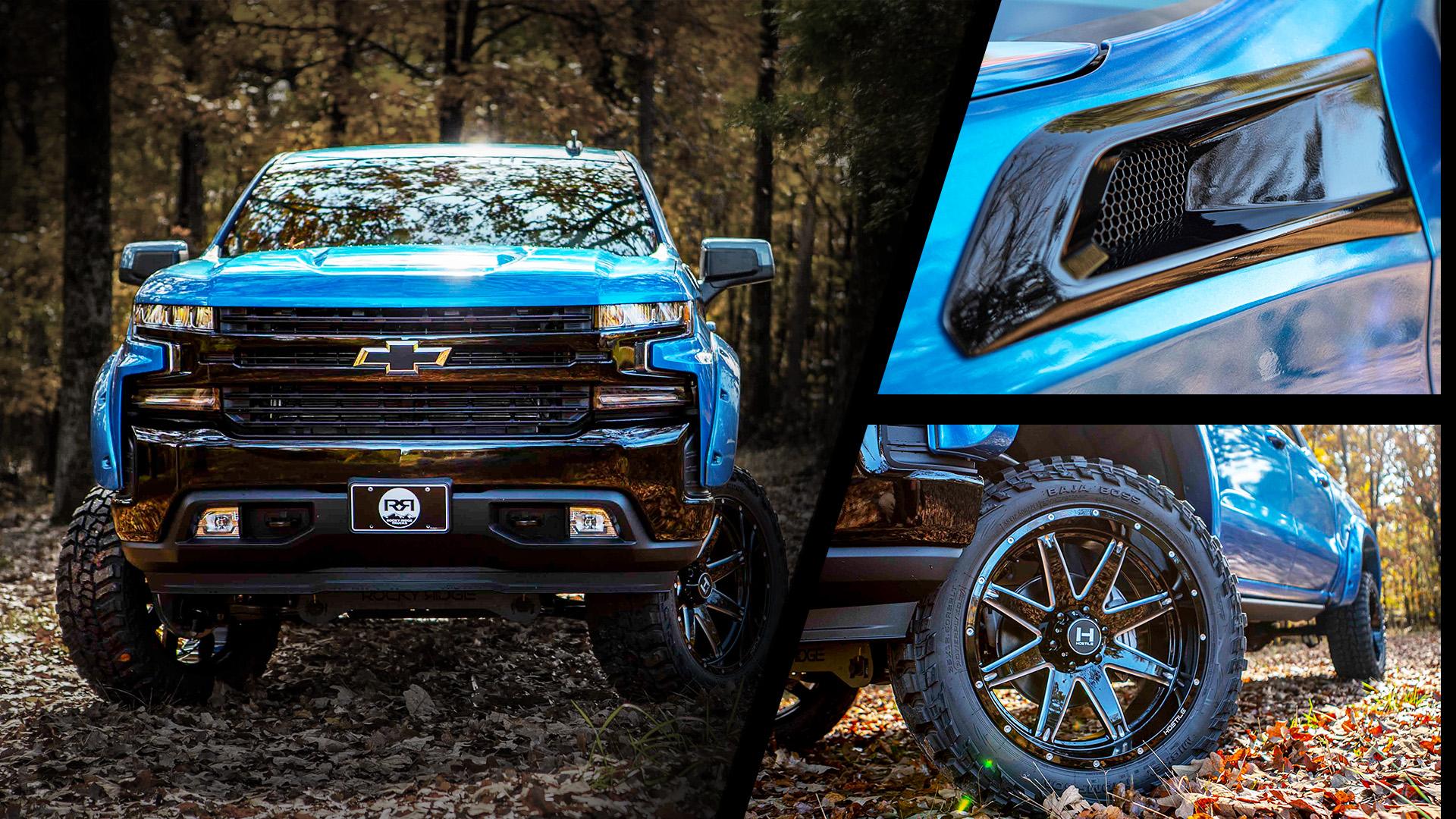 Rocky Ridge Special Edition Lifted Chevrolet K2 Rocky Ridge Trucks