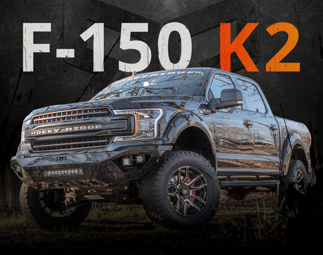 Lifted Ford F150 And F250 Trucks Custom 4x4 Ford F150 And F250 K2 Rocky Ridge Trucks