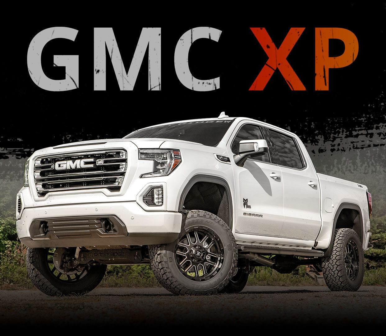 Lifted Gmc 1500 Truck Custom Sierra X Package Rocky Ridge Trucks