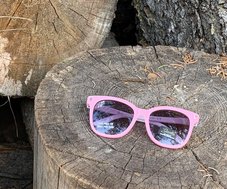 Pink Kids Wayfarer Sunglasses  The Last Temptation