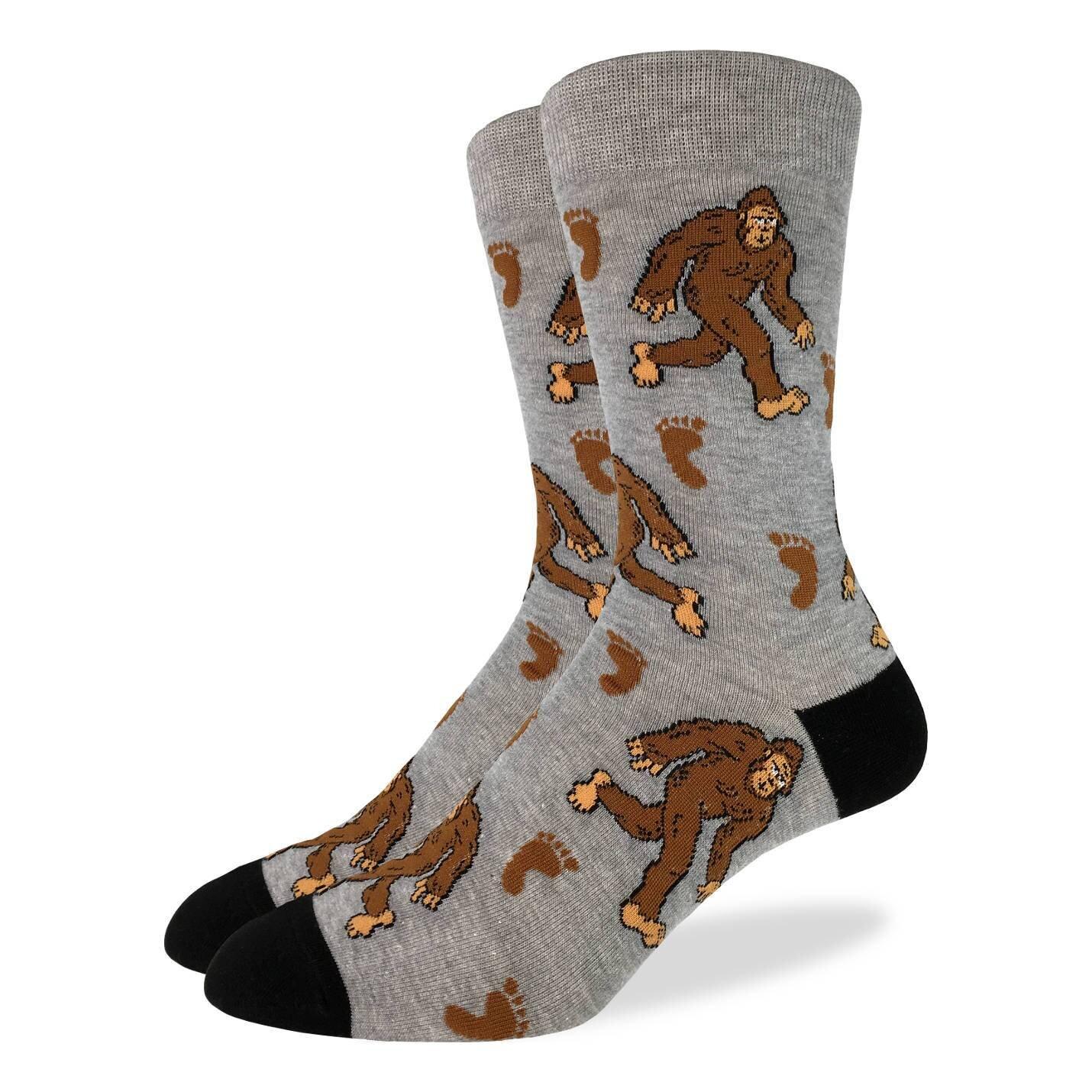 Mens Big Foot Socks  The Last Temptation