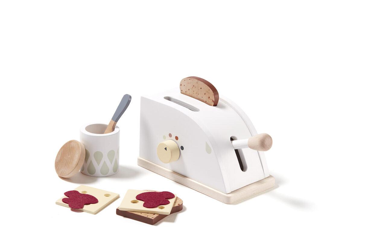 Kids Concept Toaster Bistro Set Wooden Toy Daily Mind