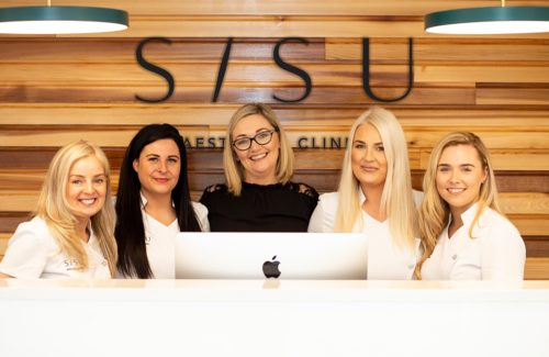 SISU Clinical Skincare Belfast clinic team