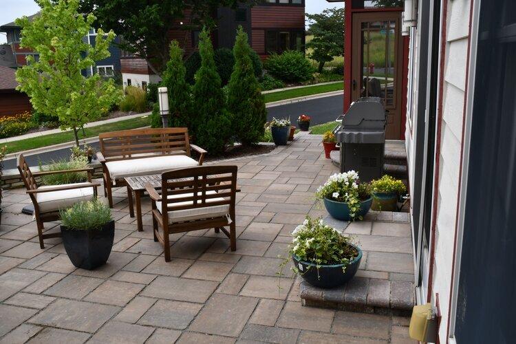 Patio Design And Outdoor Furniture Arrangement Ideas For Avid