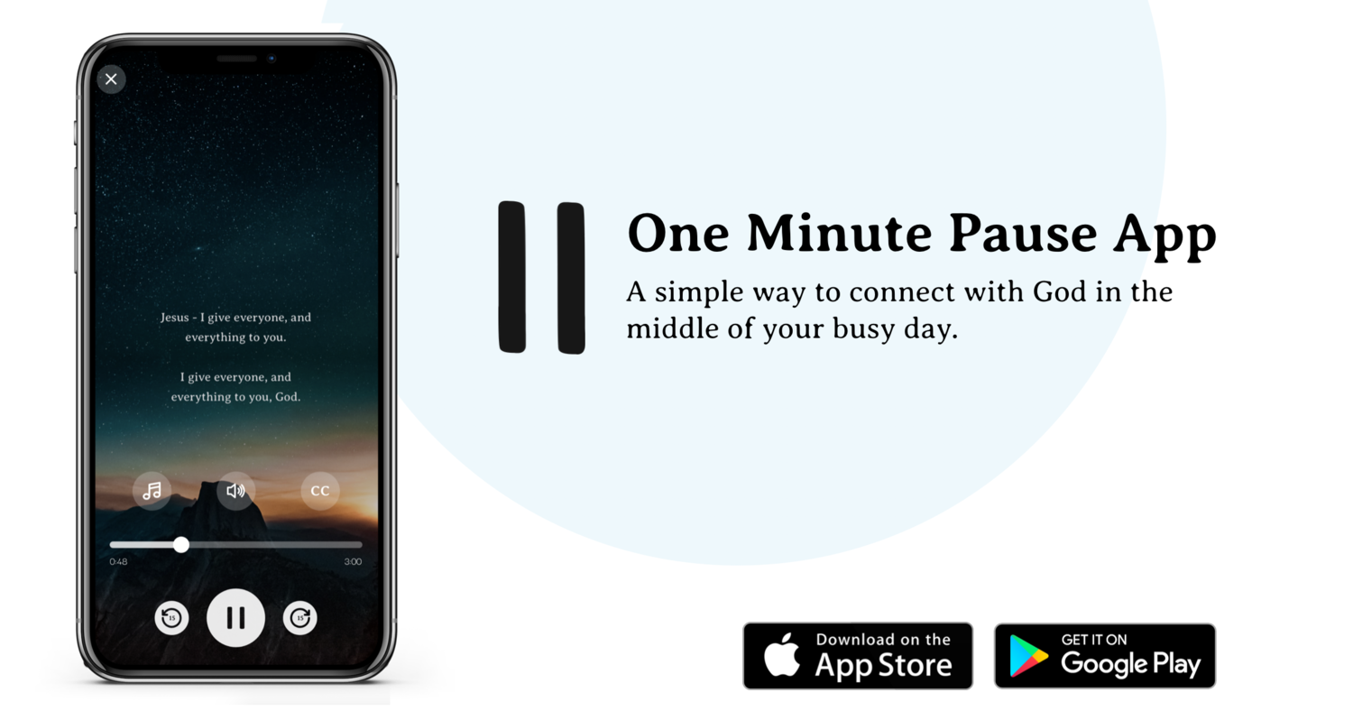 Image result for one minute pause app