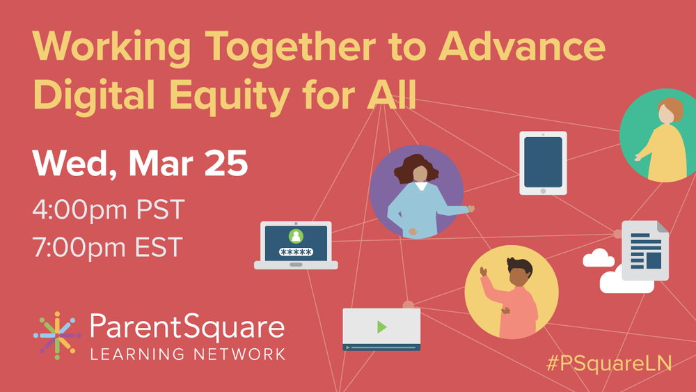 Webinar: Working Together to Advance Digital Equity for All
