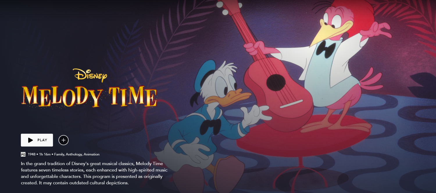 Review Disney S Melody Time Disnerd Movie Challenge