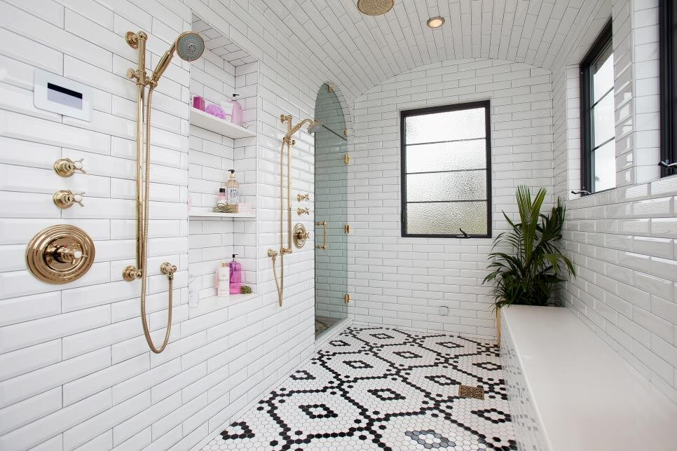 Form And Function The Lastest Greatest Shower Niche Designs Bella Tile Stone