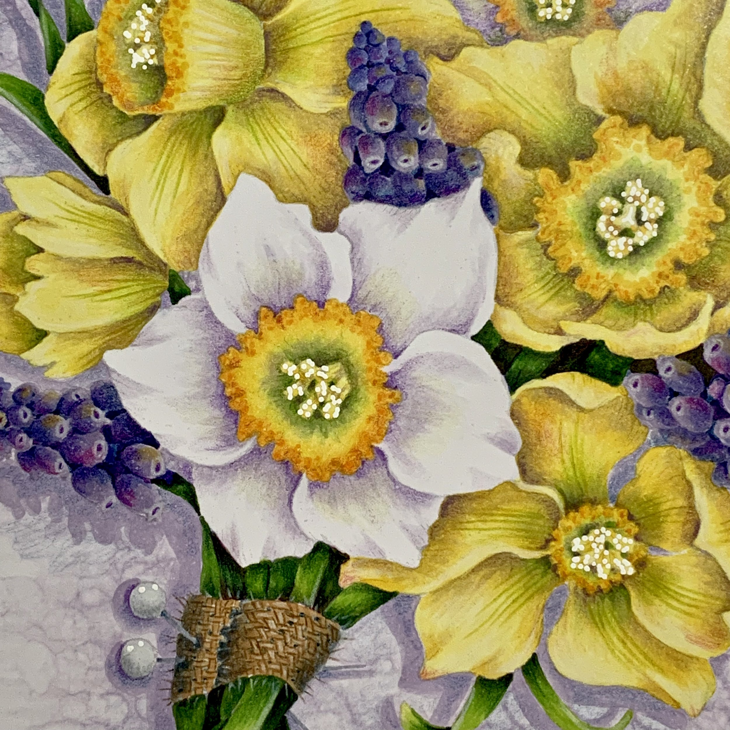 Daffodil Bouquet Carde Diem