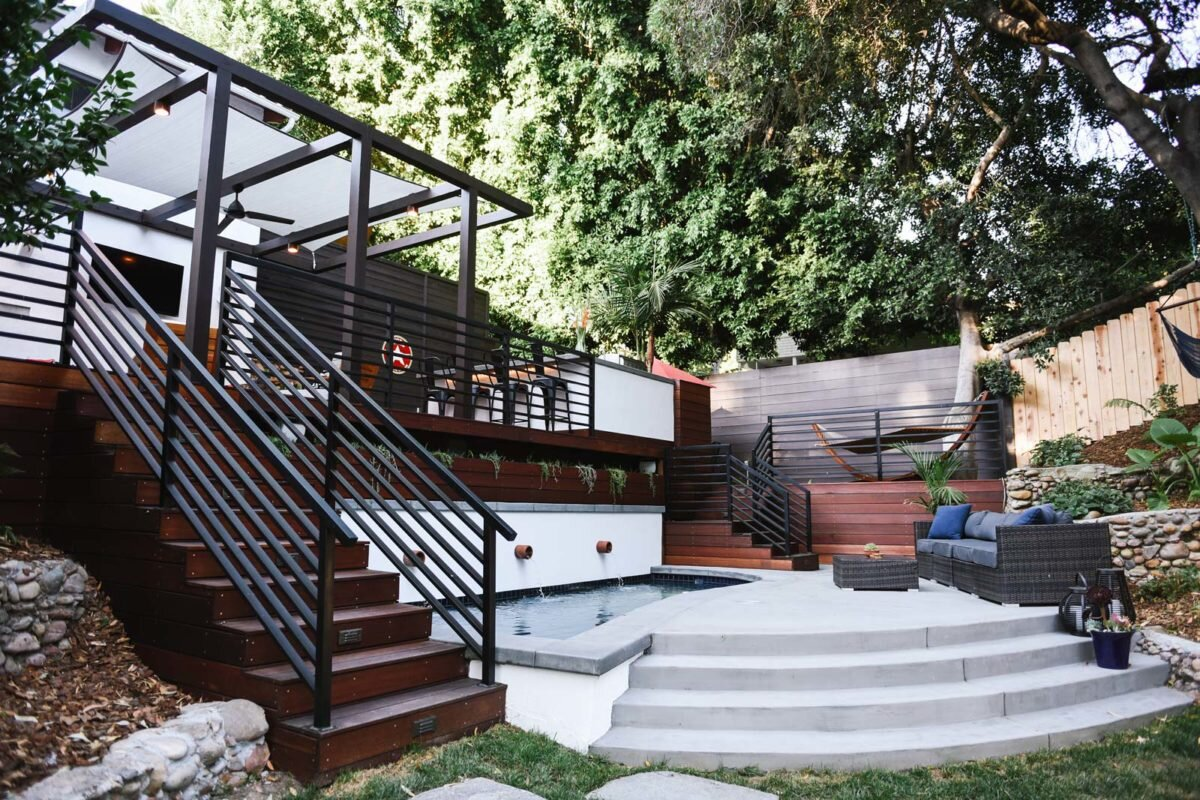 Outdoor Living Space Design cost of outdoor living space remodel: broken out by budget