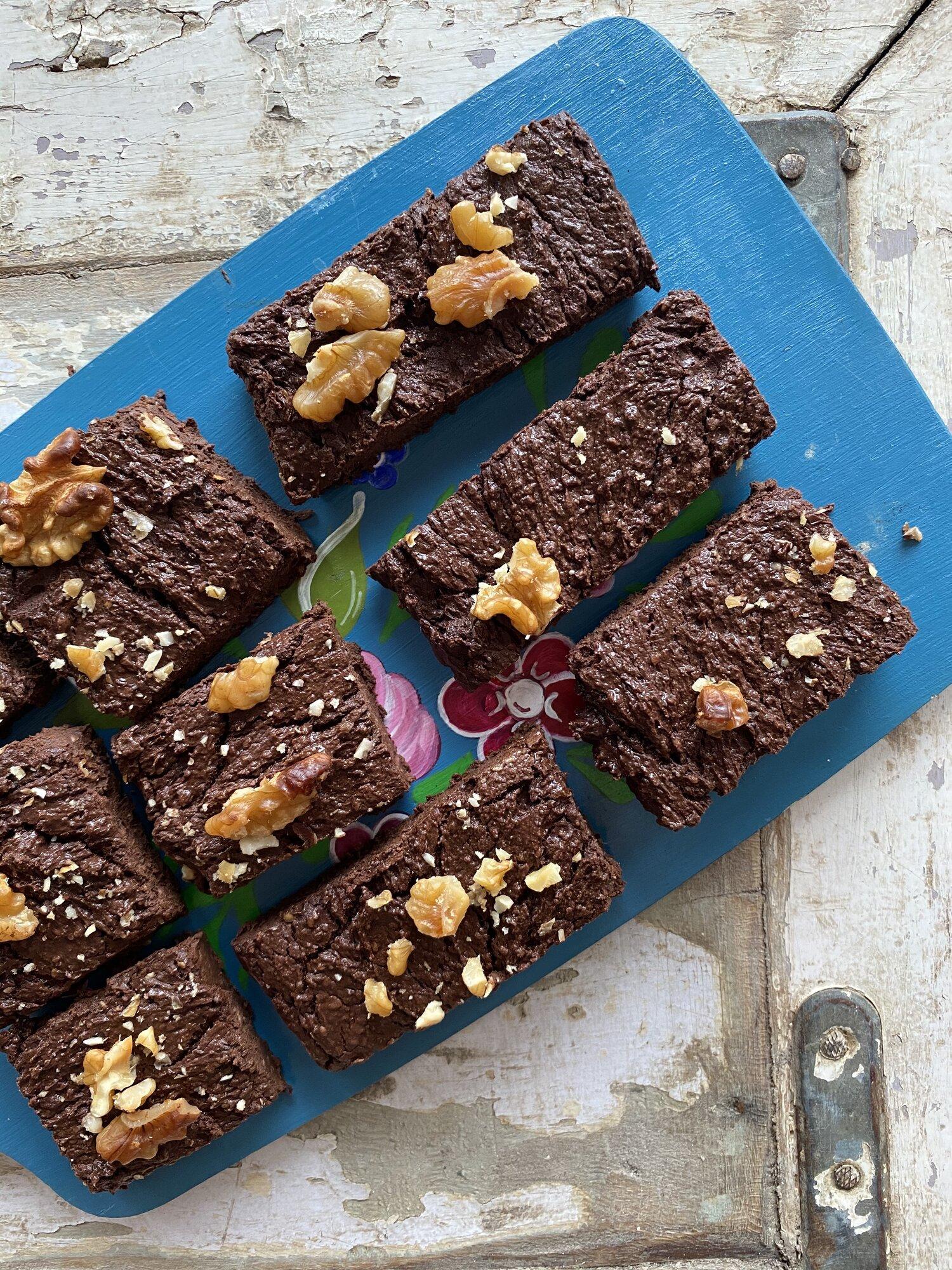 Grain Free Vegan Brownies Citrine Kitchen