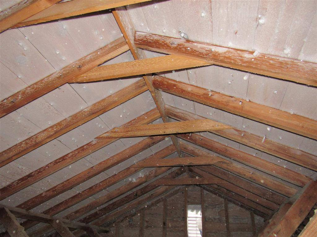 Frost In Attics Why It S There And How To Fix It Structure Tech Home Inspections