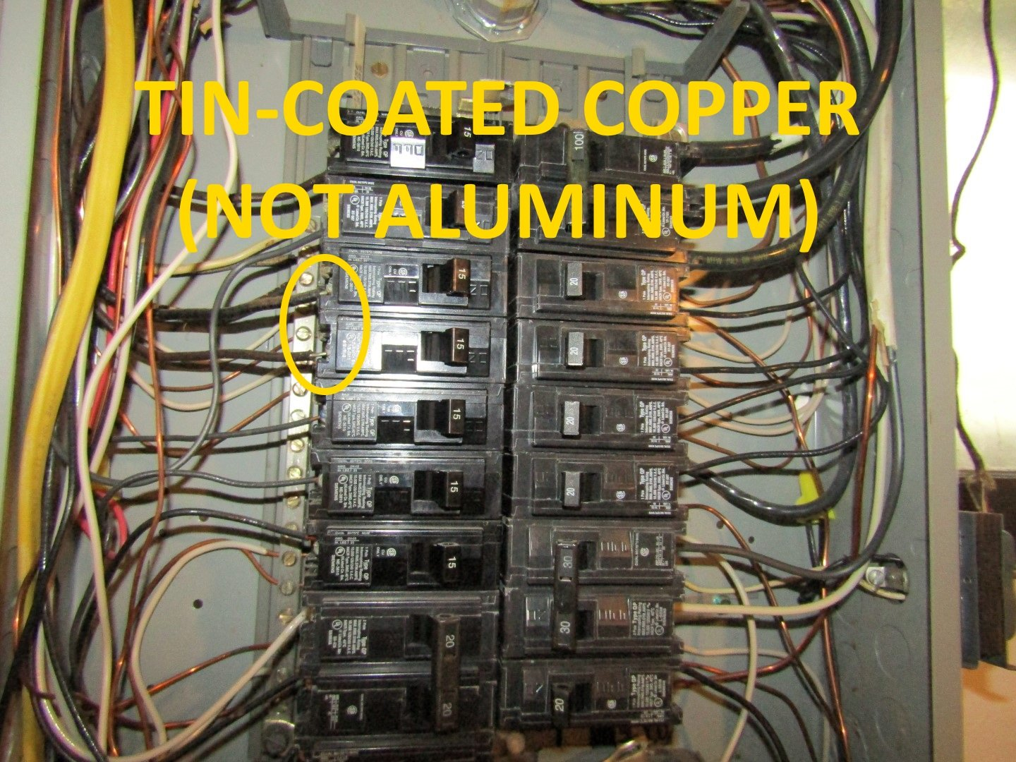 [SCHEMATICS_4NL]  Hazards with aluminum wiring — Structure Tech Home Inspections | Aluminum Wire Fuse Box |  | Structure Tech Home Inspections