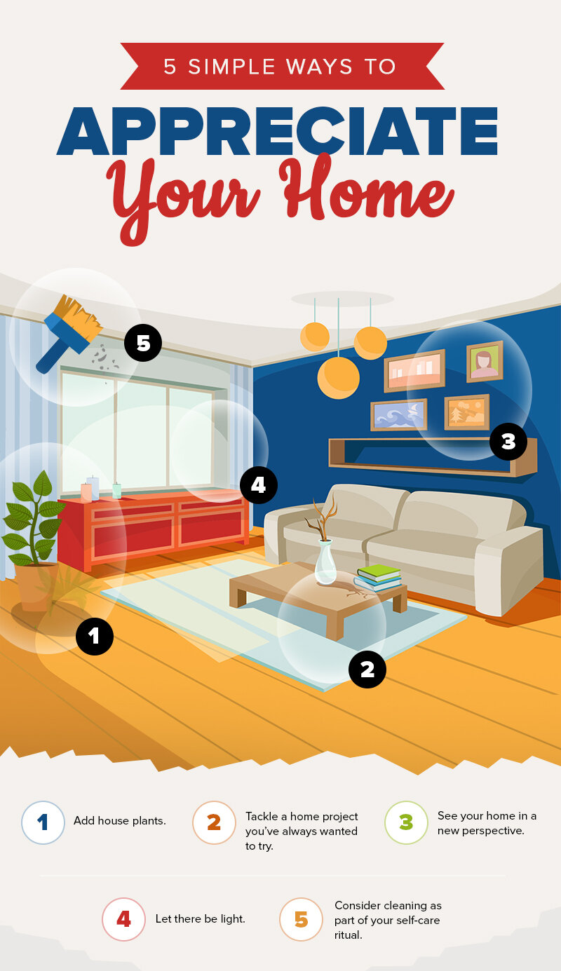 5 Simple Ways To Appreciate Your Home