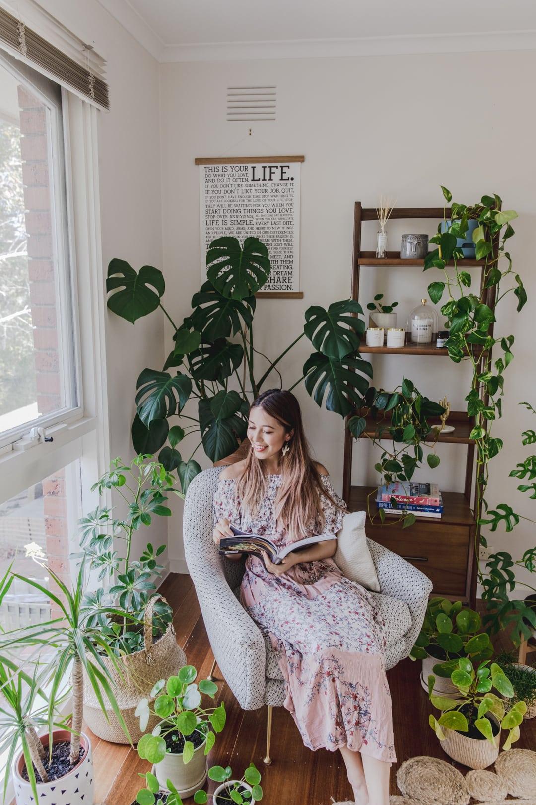 Our New Home - Reading Corner / Plant Corner tour — CONNIE ...