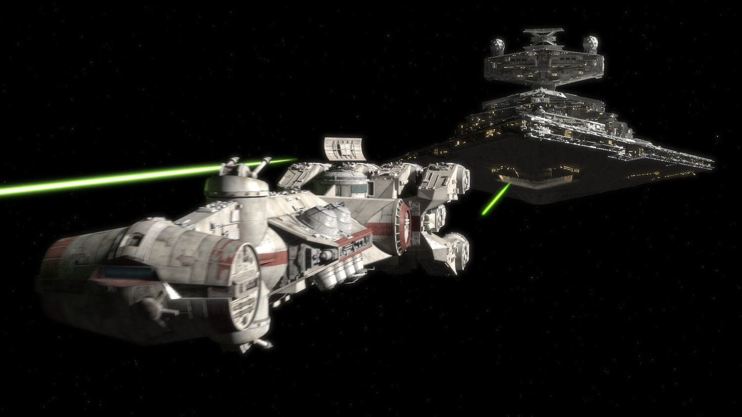 Here S Why The Cr90 Is The Most Important Starship In Star Wars Motordiction