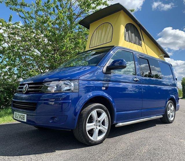 VW T6 Pop Top Roof Van Campervan Conversion