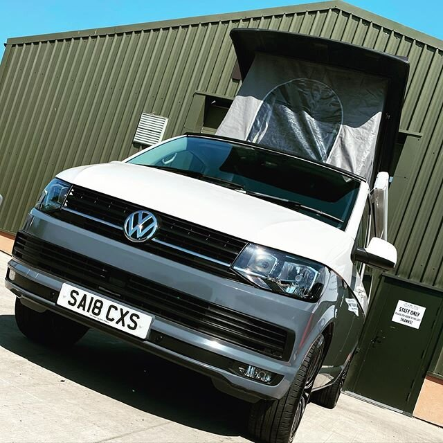 This beauty's just had an awning fitted, half respray in 'pure grey' Sill has been completely repaired, new shoes are on and ready to be collected. The lucky lady will be here soon😜. #vw #vansofinstagram #vanswithoutlimits #vanstagram #puregrey #t6 #transporter #vanporn #camperlife #whatabeauty #automotivedetailing #dublife #vwtransporter #vwlife #campervan