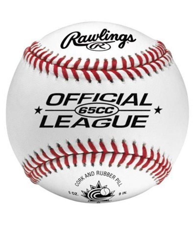 65CC Official Baseball  Abbies Sports Shop
