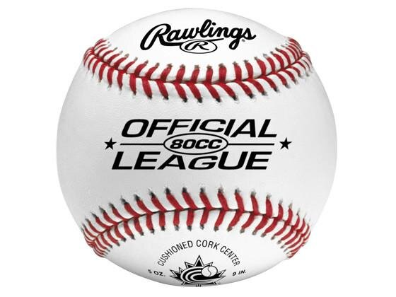 80CC Official Baseball   Abbies Sports Shop