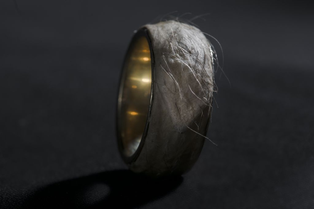 Forget Me Knot A Human Skin Ring Nordic Style Mag
