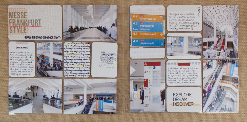 Germany Frankfurt Transparent Scrapbook Diary Album Decor Stickers Scrapbook