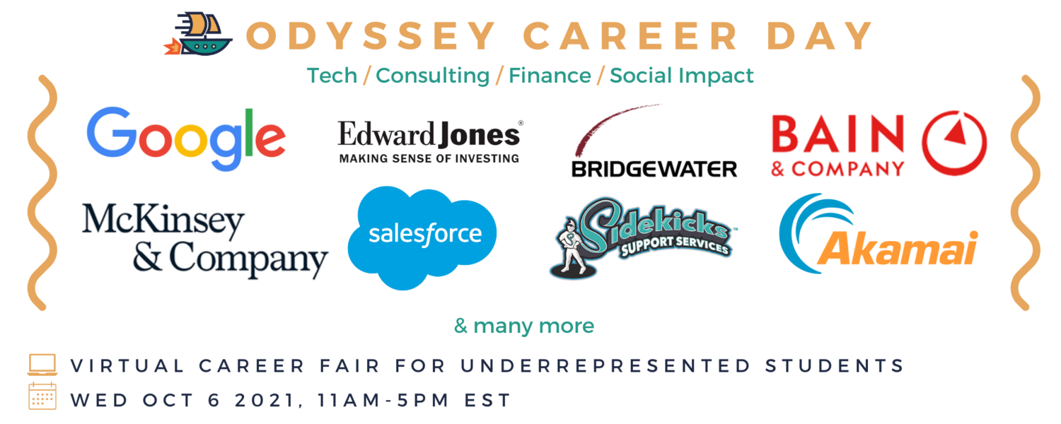I have gained so much through speaking with professionals through Odyssey, from networking in real-life situations to learning about what differ