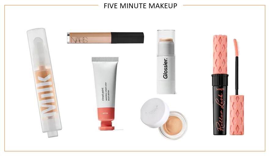 My Five Minute Makeup Routine Neon Sundays