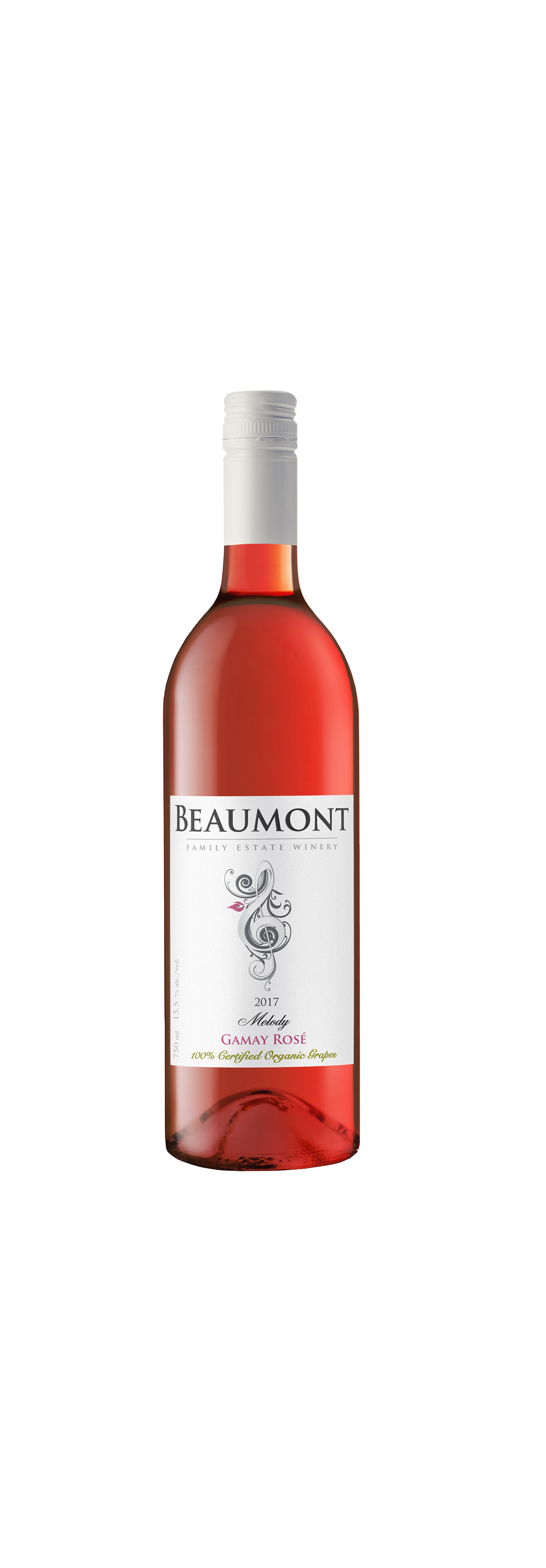 'Melody' Gamay Rose 2017  Beaumont Family Estate Winery