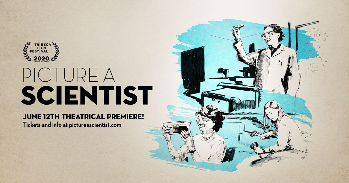 title screen - Picture a Scientist