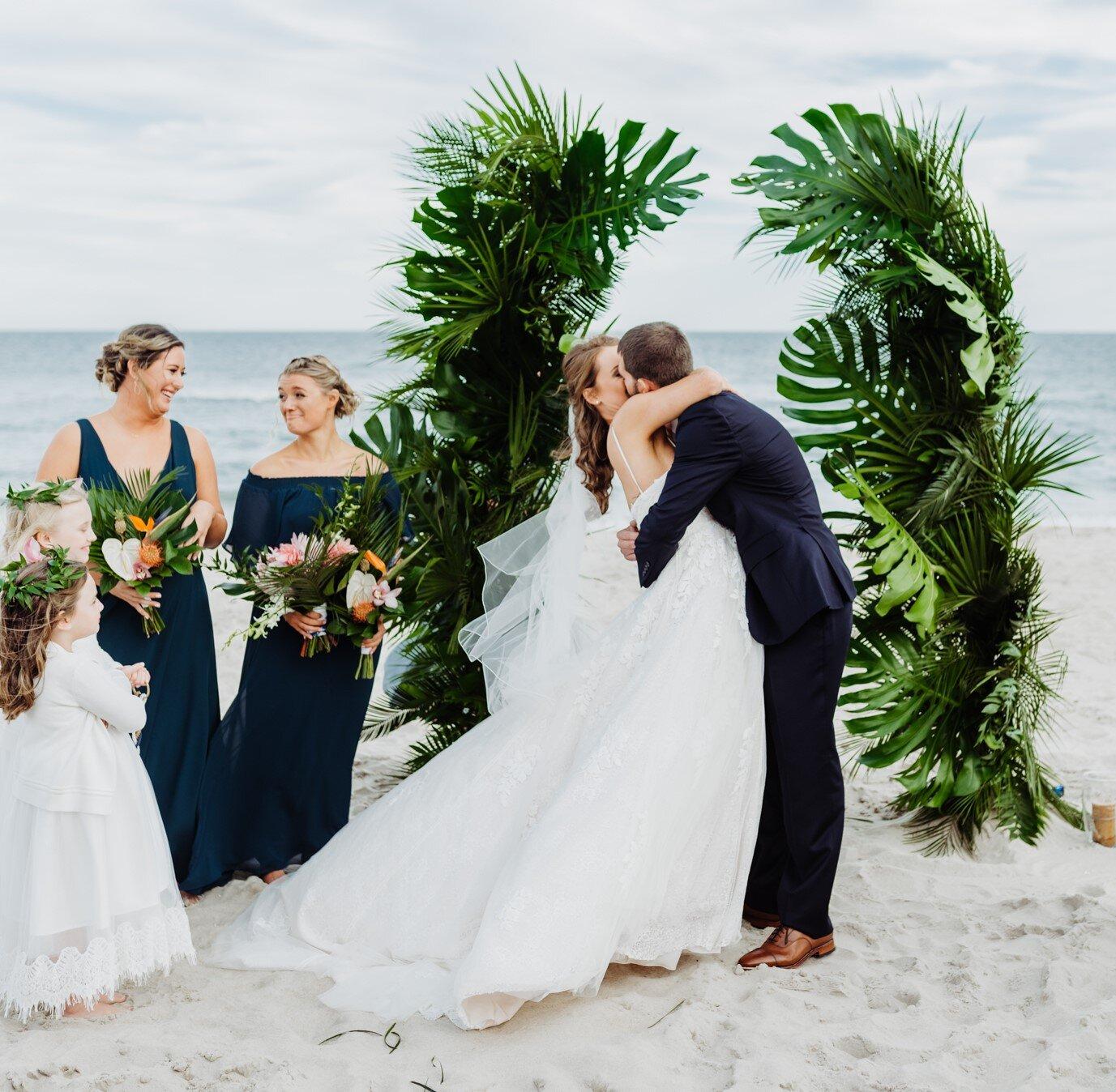 Barefoot Beach Bride -Beach Weddings- Ocean City Md