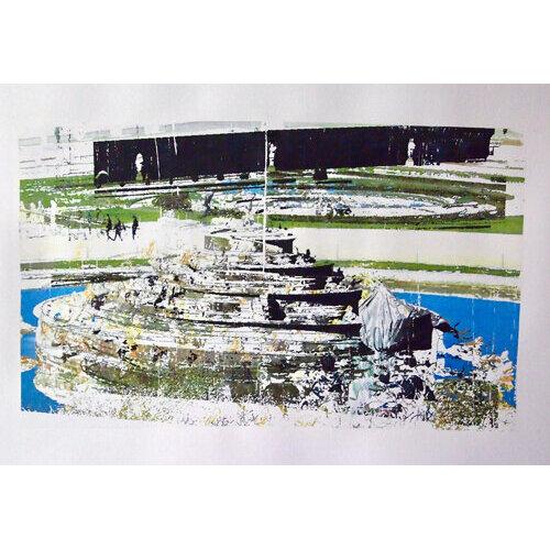 "Adriyanna Zimmermann, ""Legacy of Leto"", mixed media on paper, 18x24          CANVAS."